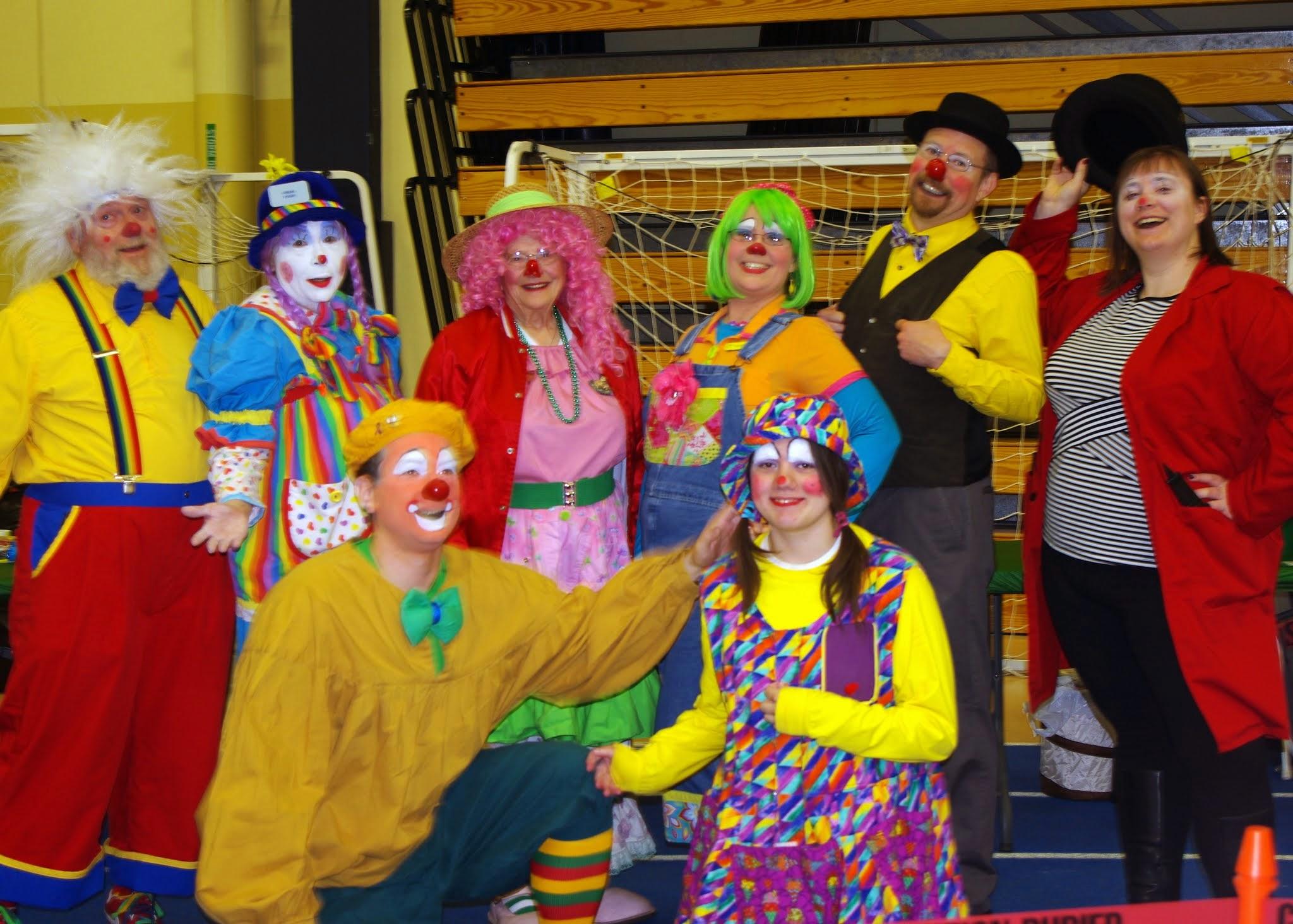 Clown Roundup members